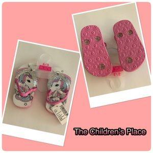 Toddler Girls Unicorn Flip Flop Sandals